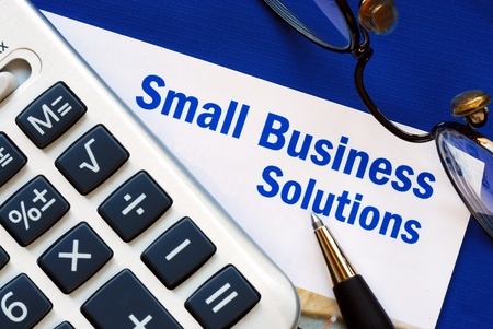 Provide financial solutions and support to Small BusinessProvide financial solutions and support to Small Business Stock Photo - 10963519