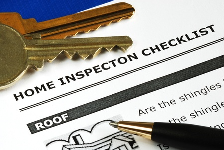 estate: Checklist from the Real Estate Inspection Report