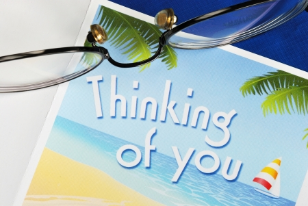 Thinking of You concepts of caring and thoughtfulness Stock Photo - 16328211