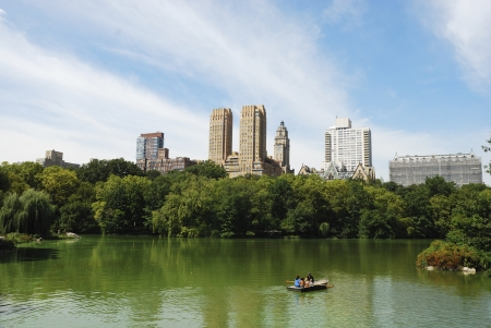 View from Central Park in New York City Stock Photo - 16328352