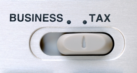 Tax is an important factor in a business Stock Photo - 17710484