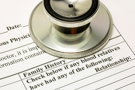 health answers: Filling the Family History section in the medical history questionnaire