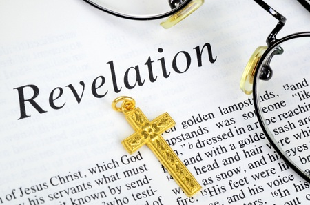 Study the Bible concept of religion and faith Stock Photo