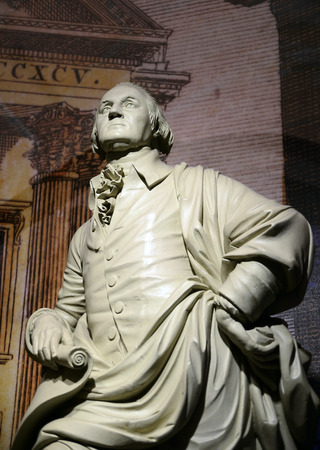 George Washington statue, the forefather of the United States photo