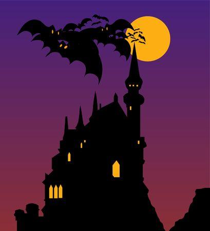 dracula castle: Halloween Castle