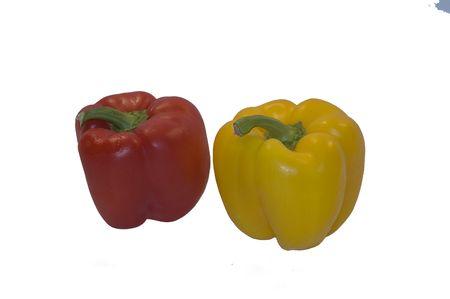 Bell Peppers, fresh Reklamní fotografie