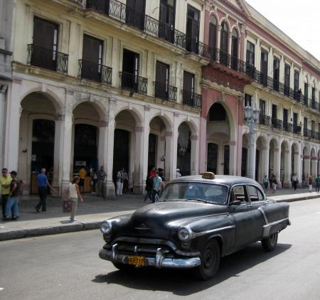 classic taxic in Cuba