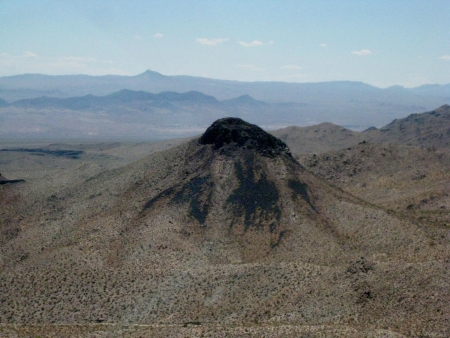 mohave: Mohave Desert, aeriel view Stock Photo