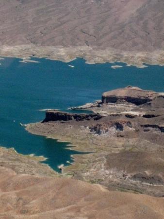 Lake Mead, aeriel view