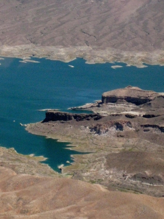 Lake Mead, aeriel view Stock Photo - 15082423
