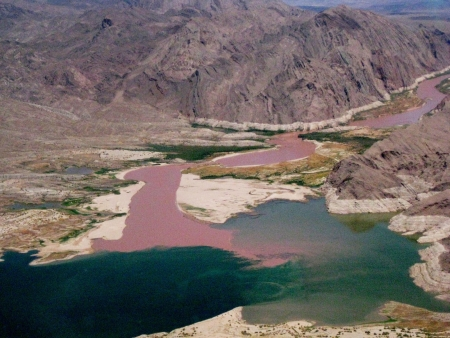 mead: Lake Mead, aeriel view