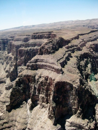 Grand Canyon, rock formation, aeriel view