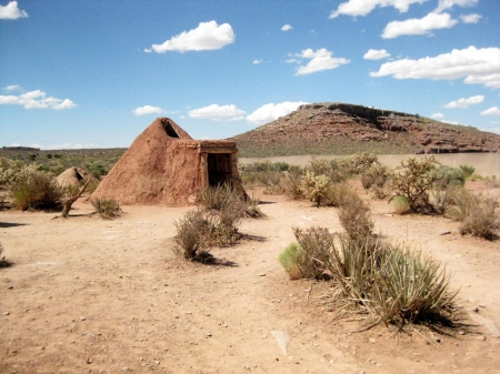 traditional western Indian shelter photo