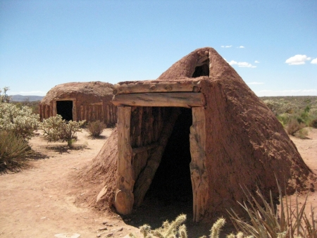 traditional western Indian shelters
