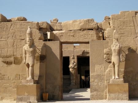 Egytian ruins