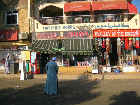 Tourist store in Egypt Editorial