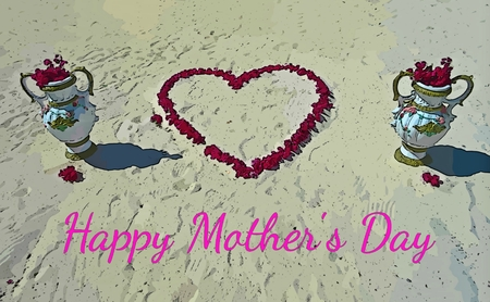 Mothers Day card graphic photo