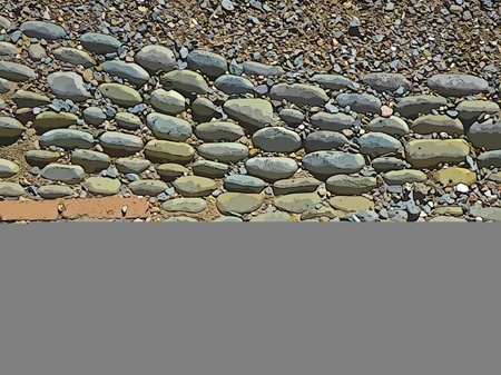 grays: Background design with varied stone textures Stock Photo