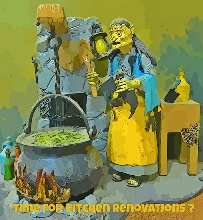 Graphic image for kitchen renovating companies 版權商用圖片 - 40939163