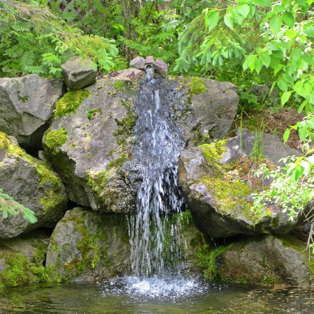 freshwater: Small spring of freshwater