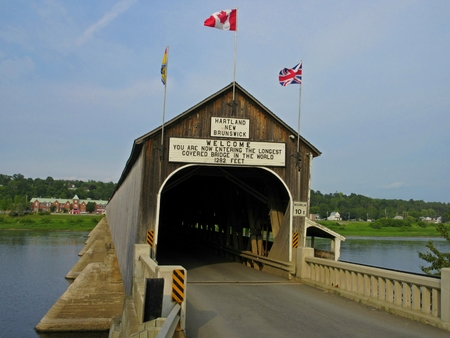famous: Famous Hartland Covered Bridge