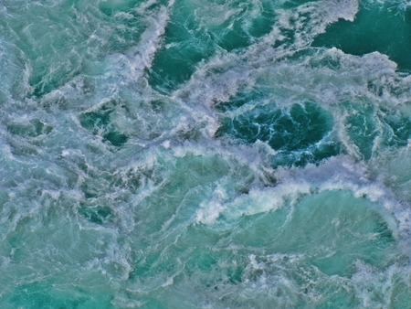 Background image created from my photograph of water rapids. Stock Photo
