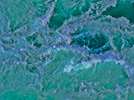 rushing water: Background image created from my photograph of water rapids. Stock Photo