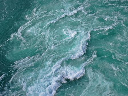 rushing water: Background design of water rapids.