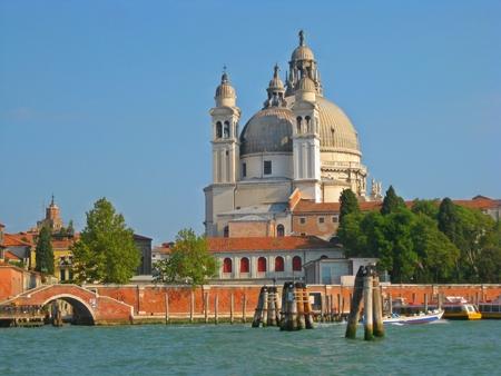 Canal scene in Venice. Stock Photo
