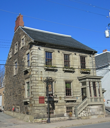 Historic Henry House tavern in Halifax, Nova Scotia, Canada.