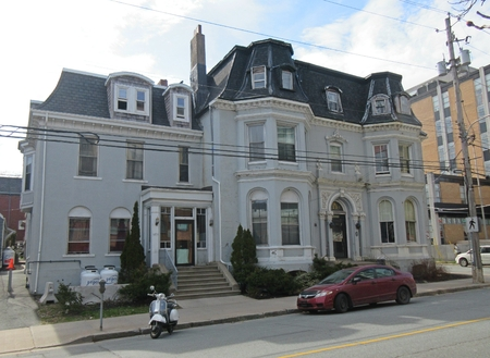Waverley Inn is a popular hotel and historic property in Halifax, Nova Scotia.