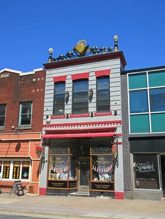 Fireworks Jewelry Store in Halifax Nova Scotia on Barrington Street. Editorial