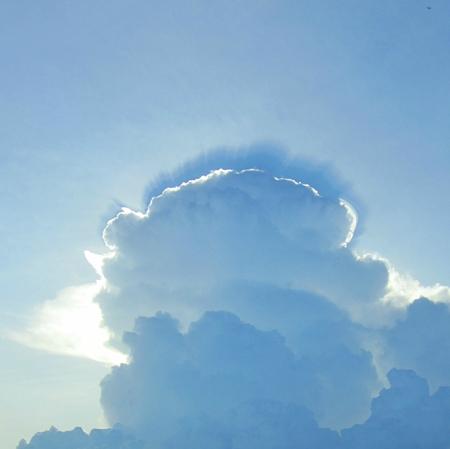 Spiritual cloud and sky. Banco de Imagens - 87389290