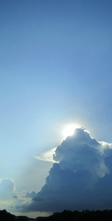 Unique sky.