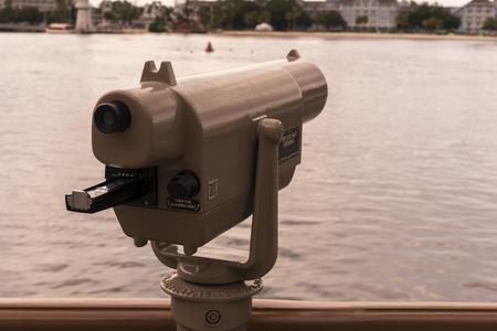 Lange afstandsviewer voor toeristische bezichtigingen