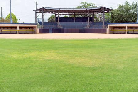 Outdoor Baseball Stadium