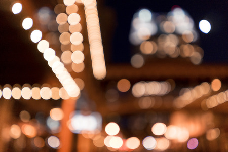 Downtown Abstract Bokeh Photography Stock Photo