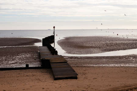 A wooden jetty leading out into the water