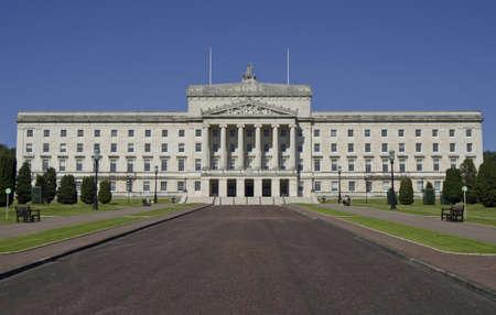 northern ireland: Stormont Parliament Buildings, Northern Ireland Stock Photo