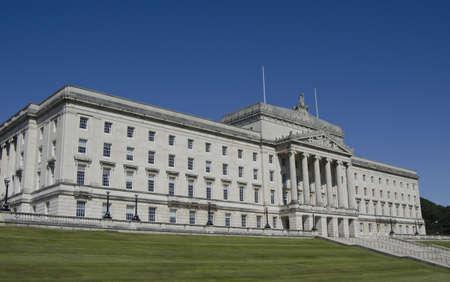 buliding: Stormont Parliament Buildings, Northern Ireland Stock Photo
