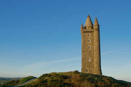 charles county: Famous Scrabo Tower in Northern Ireland