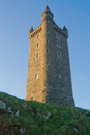 northern ireland: Historic Scrabo Tower in Northern Ireland