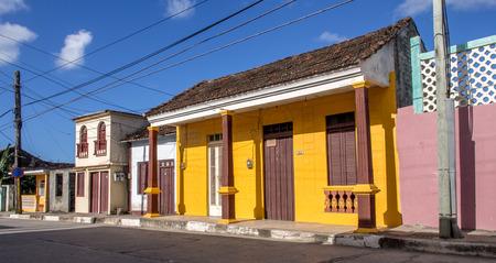 particular: Street in Baracoa Cuba Editorial