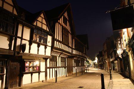 friar: Friar Street in Worcester, England
