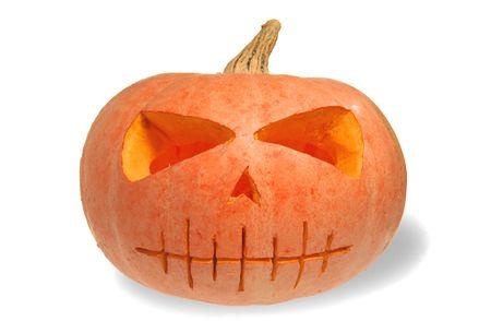 Halloween pumpkin isolated Stock Photo - 1779143