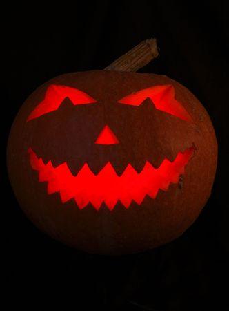 jack o latern: Halloween pumpkin isolated