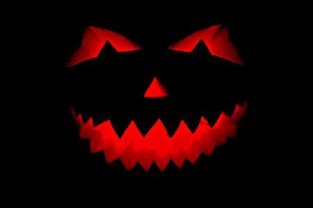 helloween: Halloween pompoen geïsoleerd