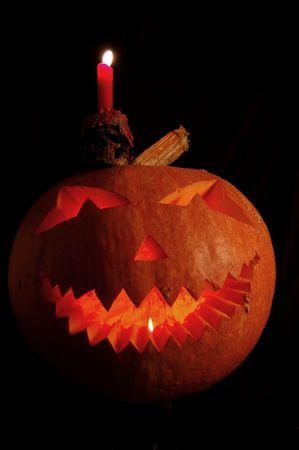 Halloween pumpkin isolated photo