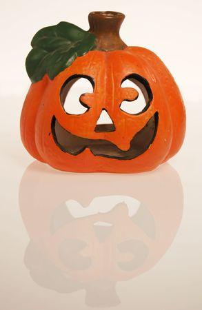 Halloween pumpkin isolated Stock Photo - 2004950