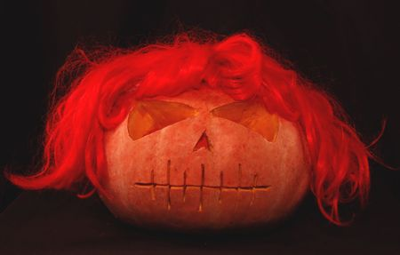 Witch pumpkin Stock Photo - 2004963